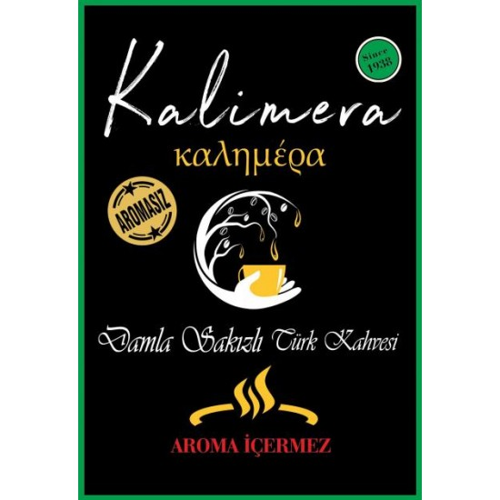 Kalimera - AROMASIZ Gerçek Damla Sakızı tanecikleri
